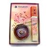 Photo of Kin-kaku ''Golden Pavilion'' Incense Gift Set from Shoyeido - a 40-stick bundle plus 2 1/4-inch glazed ceramic incense holder.