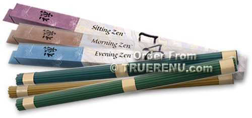 PHOTO TO COME: Shoyeido Zen 2 Hour Incense 3-Pack Bundle - Sitting - Morning - Evening - 90 Sticks Total (30 Sticks each)