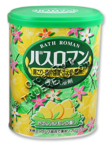 PHOTO TO COME: Bath Roman Lemon Japanese Bath Salts - 850g