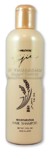 Photo of Komenuka Bijin Moisturizing Hair Shampoo with Natural Rice Bran - 11 Fl Oz