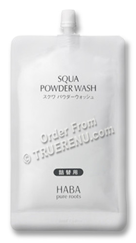 PHOTO TO COME: HABA pure roots Squa Powder Wash Cleanser with Papaya Enzymes - 80g REFILL