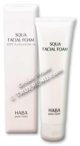 PHOTO TO COME: HABA pure roots Squa Facial Foam Cleanser with Squalane - 100g