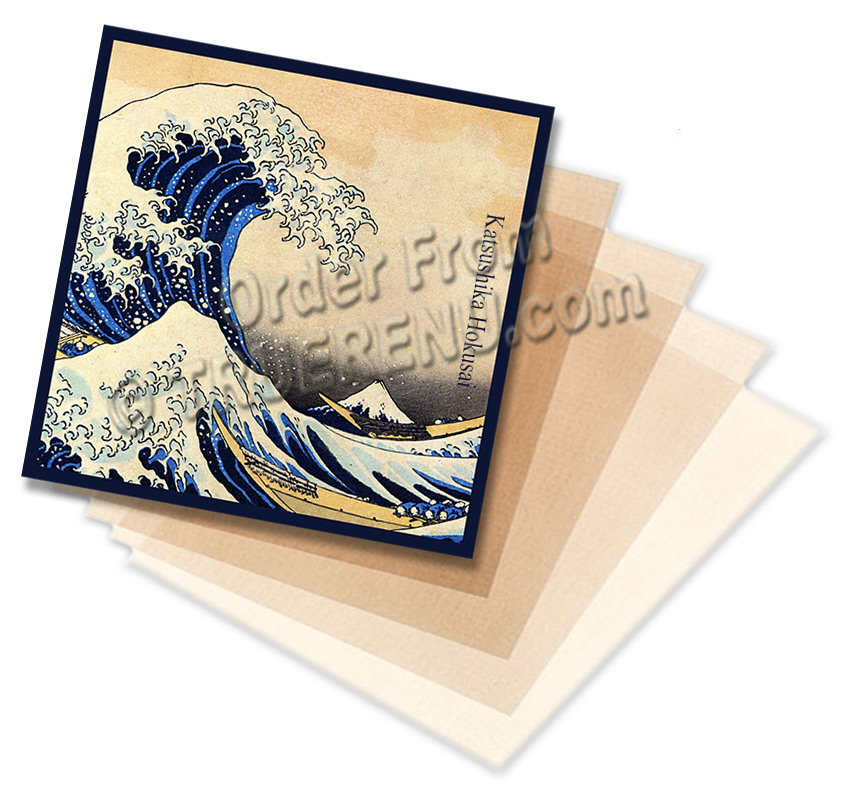 Photo of HABA Japanese Oil Blotting Papers with Squalane - 40 Sheets