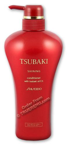 Photo of Shiseido Tsubaki Shining Conditioner with Tsubaki Oil EX - 550ml Pump Dispenser