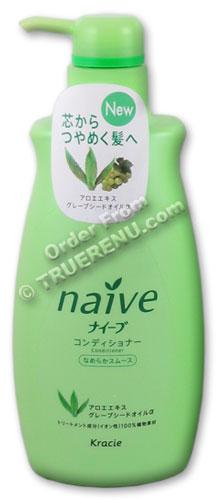 Photo of Kanebo Naive Aloe Hair Conditioner - 600mL
