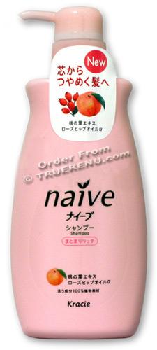 Photo of Kracie (ex Kanebo) Naive Peach Hair Shampoo - 550ml