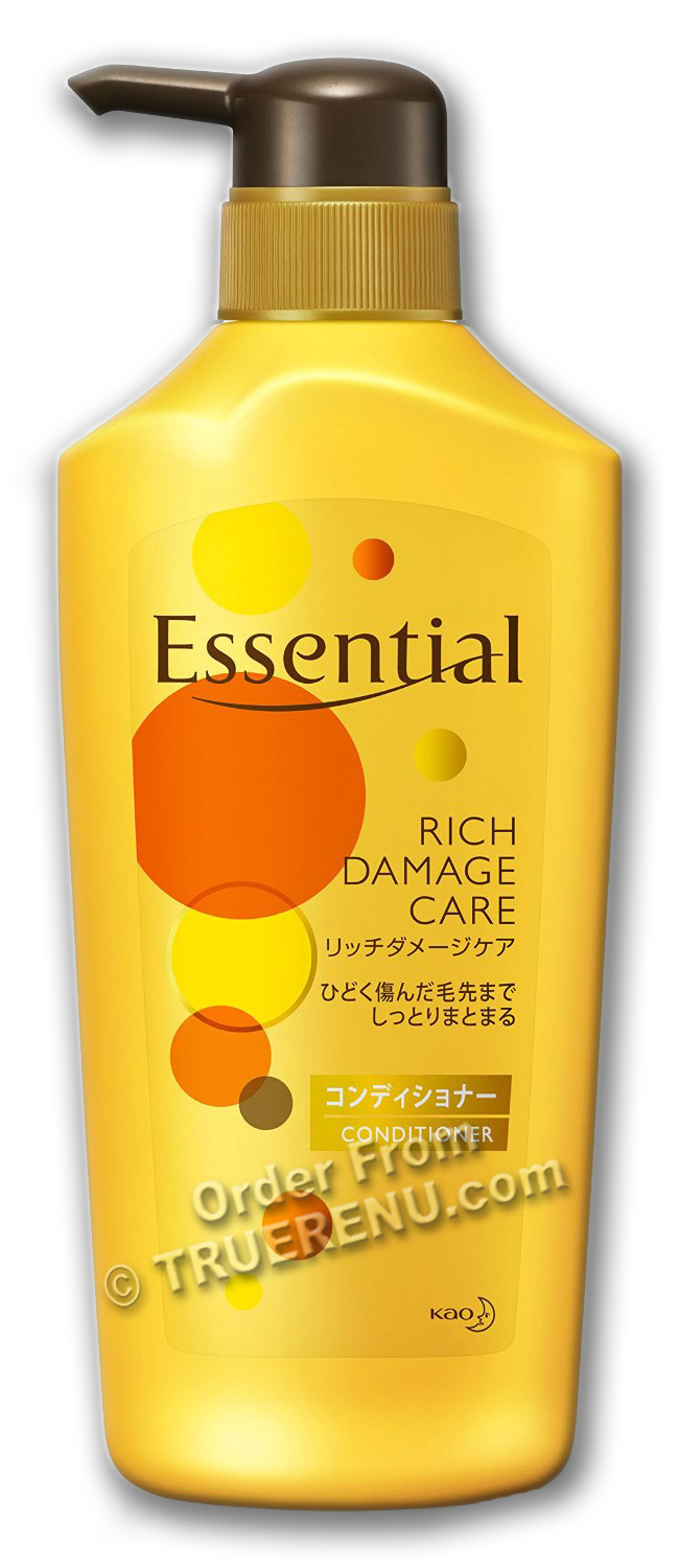 PHOTO TO COME: KAO Essential - Rich Damage Care Conditioner - 480ml Pump Bottle