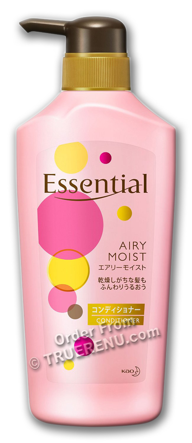PHOTO TO COME: KAO Essential - Airy Moist Conditioner - 480ml Pump Bottle