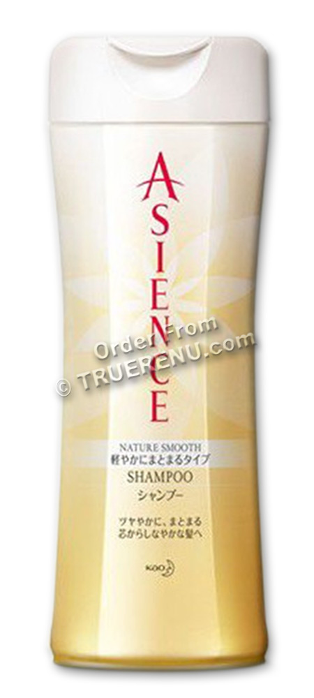 PHOTO TO COME: KAO Asience Nature Smooth Shampoo - Regular Size Bottle - 200ml