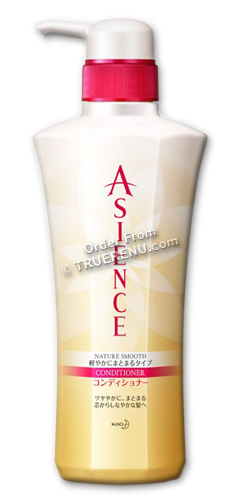 PHOTO TO COME: KAO Asience Nature Smooth Type Conditioner - 500ml Pump Dispenser