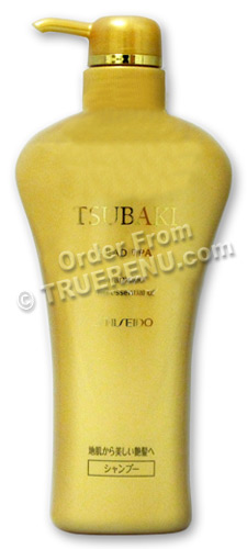 PHOTO TO COME: Shiseido Tsubaki Head Spa with Essential Oils: Shampoo Pump - 550ml