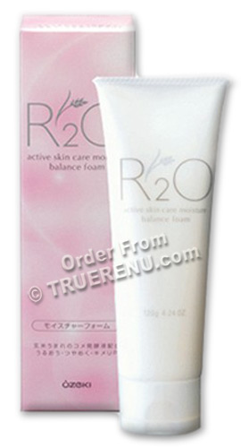 PHOTO TO COME: Ozeki R2O Active Skin Care - Moisture Balance Face Wash Foam - 120g
