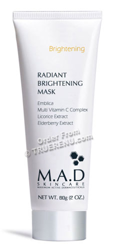 PHOTO TO COME: M.A.D SKINCARE BRIGHTENING: Radiant Brightening Mask - 60g