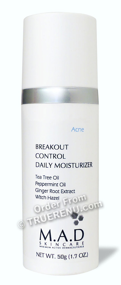 PHOTO TO COME: M.A.D SKINCARE ACNE: Breakout Control Daily Moisturizer - 50g