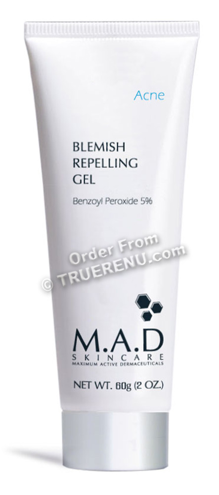 PHOTO TO COME: M.A.D SKINCARE ACNE: Blemish Repelling Gel 5% BPO - 60g