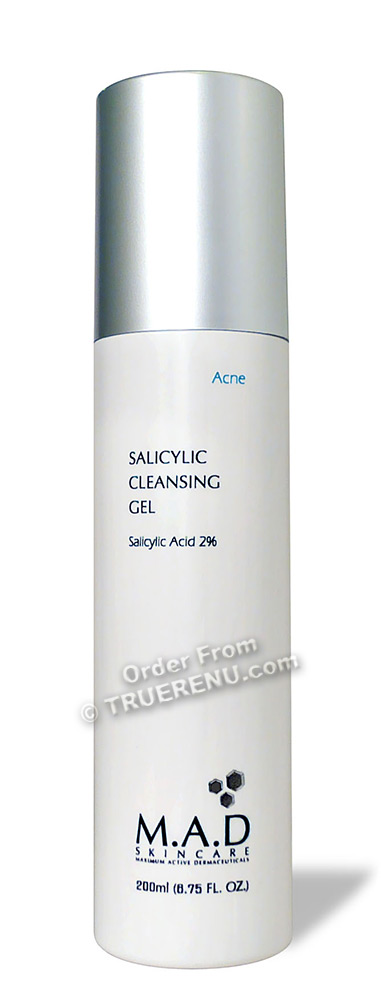 PHOTO TO COME: M.A.D SKINCARE ACNE: Salicylic Cleansing Gel - 200ml