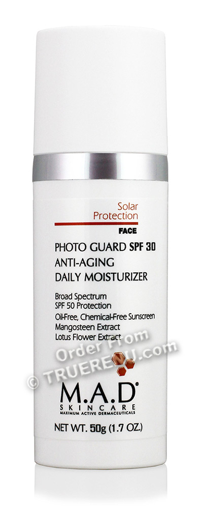 PHOTO TO COME: M.A.D SKINCARE SOLAR PROTECTION: Photo Guard SPF 30 Anti-Aging Daily Moisturizer - 50g