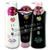 Photo of Ichikami Herbal and Rice Bran Shampoo, Conditioner & Treatment Set by Kracie - Two 550ml Pumps & 200g Tube
