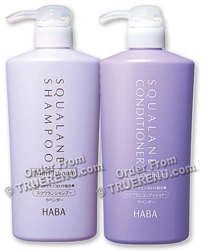 Photo of HABA Squalane Lavender Shampoo with Platinum - 500ml