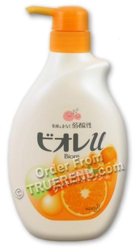 PHOTO TO COME: Biore Orange Body Wash by Kao - 550ml