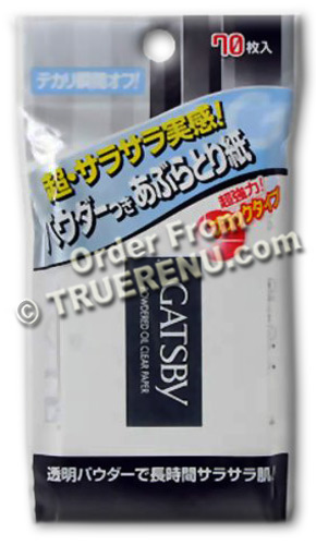 Photo of Gatsby Facial Clear Japanese Powdered Blotting Papers - 70 sheets