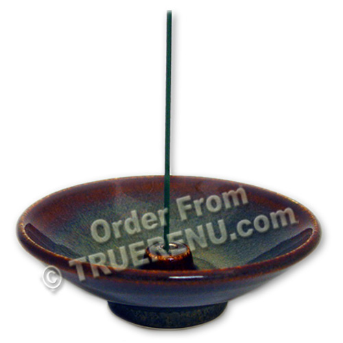 PHOTO TO COME: Shoyeido Stoneware Large 4-3/4
