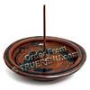 Photo of Shoyeido HandCrafted Ceramic Round Incense Burner/Holder - Mocha