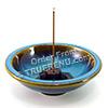 Photo of Shoyeido HandCrafted Ceramic Round Incense Burner/Holder - Oasis