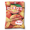 Photo of Japanese Fruit Gummy Candy from Kasugai - Peach - 107g