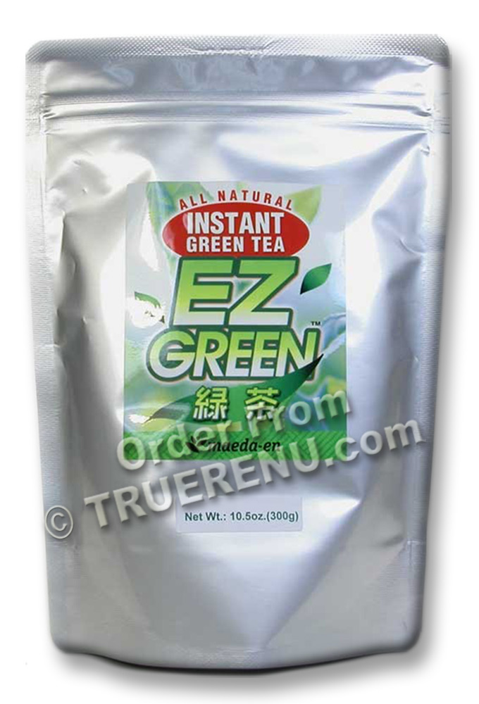 PHOTO TO COME: EZ GREEN All-Natural Instant Green Tea from Maeda-en - 300gr