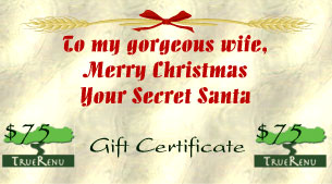 Photo of $75 Gift Certificate
