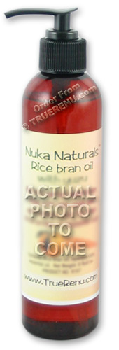 PHOTO TO COME: Nuka Naturals Rice Bran Moisturizing Oil with Fresh Ginger - 8 Fl Oz
